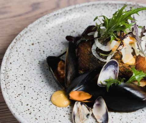 Grill Mussels