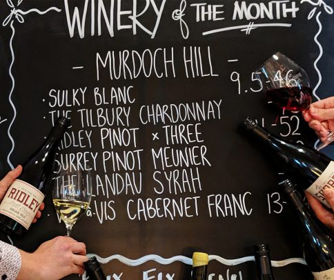 Winery of the month whats on