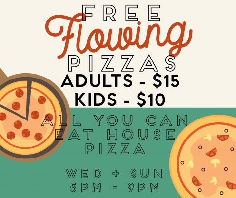 Free Flow Pizza whats on