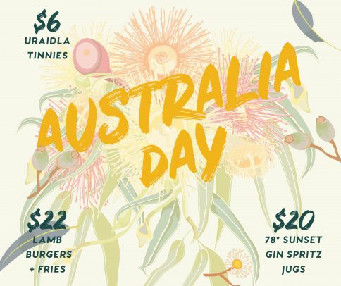 Austraila Day whats on