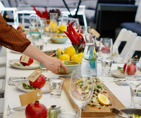 functions food table widescreen