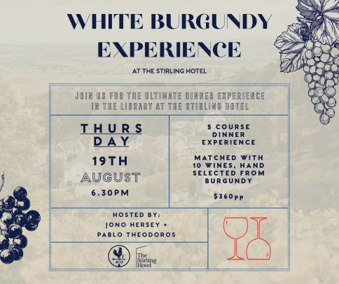 Burgundy Experience What's on